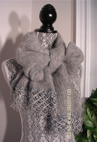 SILKY ALPACA SCARF-WRAP, Irene & Mr.Sheep Co.