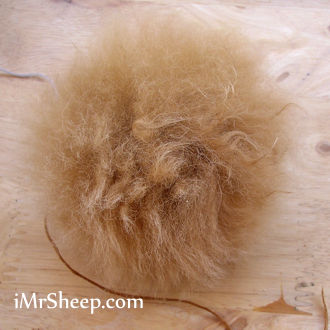 NATURAL ALPACA FUR POMPOMS