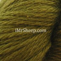 Aslan Trends KING BABY LLAMA & MULBERRY SILK [70% King Baby Llama, 30% Mulberry Silk],  col 6036 Olive