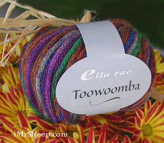 Ella Rae TOOWOOMBA [75% Superwash Wool, 25% Polyamide]