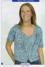 Short Jacket with Fancy Border and Top, Leaflet No. ES-MA34