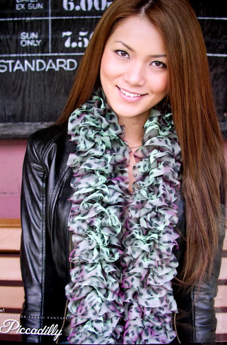 PICCADILLY Iridescent Scarf