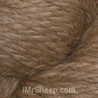 ECOLOGICAL ALPACA [100% Superfine Alpaca Undyed], 16(937) Dusty Brown