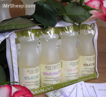 WOOLWASH NO RINSE, Eucalan: Gift Packs