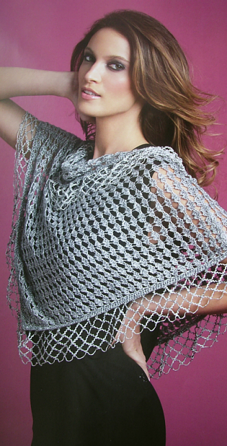 Shawl, Katia Grace and Inox Lace