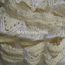 KATIA AZAHAR [66% Cotton, 26% Acrylic, 8% Polyamide], Lace Tape Yarn