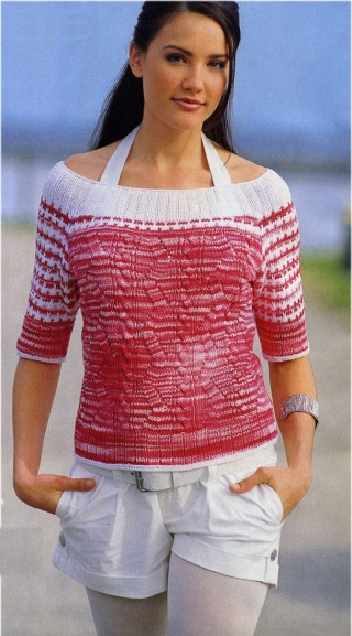 Summer Sweater, Sandra</a> No. 03/2008