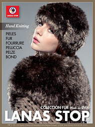 Lanas Stop Book, Hand Knitting 116 Coleccion Fur