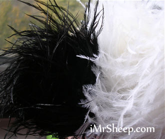 Lanas Stop STRUZZO [60% Ostrich Feathers, 40% Acrylic], Ostrich Feather Yarn