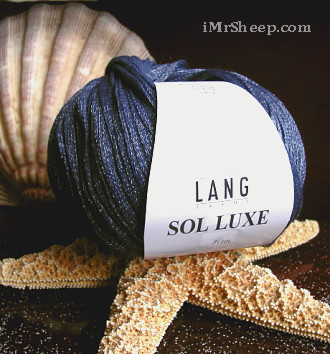 Lang SOL LUXE [78% Combed Cotton, 22% Metallic Polyester]