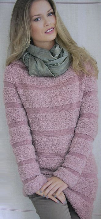Striped Pullover, Gedifra Studio, Sabrina Knits No. 2 2011