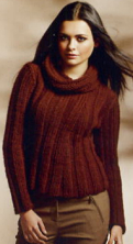 Knitwear from Organic yarns, Linea Pura Magazine