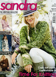 Sandra knitting magazine, December 2011