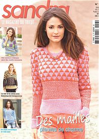 Sandra knitting magazine, March 2014