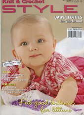 Schoeller and Stahl, Knit and Crochet STYLE, Baby Clothes.  Knitting and Crochet Magazine.