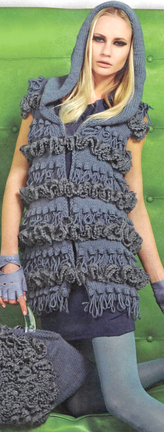 Dress with Ruffle Borders, Susanna Magazine