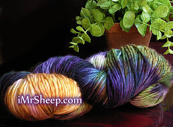MALABRIGO MERINO WORSTED [100% Kettle Dyed Pure Merino Wool], Worsted