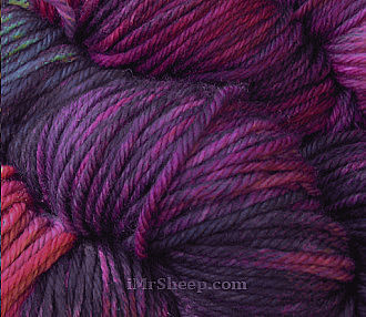 [MALABRIGO RIOS [100% Hand Dyed Pure Merino Superwash], col 872 Purpuras