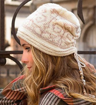 VOLUTA HAT, Malabrigo Book 4