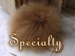 SPECIALTY ITEMS: Pompoms, Baghadles,Leather Handbags, Fashion Accessories,  Whole Leaf TEAS, Wall Art. Irene & Mr.Sheep Co.